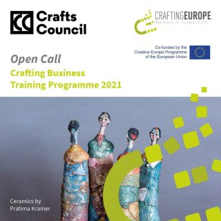 Do you need support in developing your craft business? CraftsCouncil are hosting #craftingbusiness - a free training programme for emerging makers. https://buff.ly/3qbhFFc deadline 31 March 2021. Funded by the European Commission & craftingeurope #craftingeurope #businesstraining