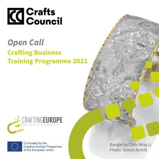 Do you have a craft business idea you want to get off the ground? CraftsCouncilUK are hosting #craftingbusiness - a free training programme for emerging makers. https://buff.ly/3qbhFFc deadline 31 March 2021. Funded by the European Commission & craftingeurope #craftingeurope #businesstraining